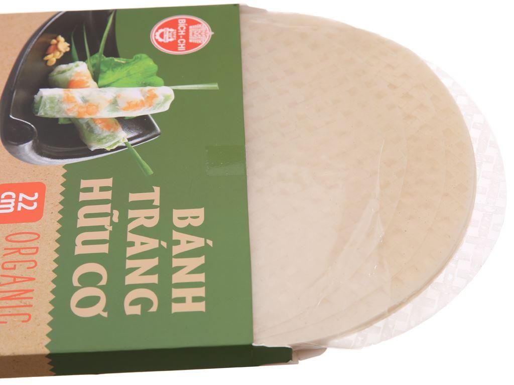 Bánh tráng hữu cơ 22cm Bích Chi hộp 200g 3