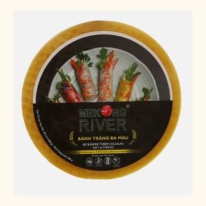 Bánh tráng 22cm ba màu Mekong River gói 300g