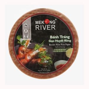 Bánh tráng 22cm gạo huyết rồng Mekong River gói 300g