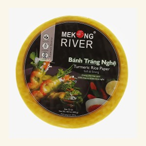 Bánh tráng 22cm nghệ Mekong River gói 300g
