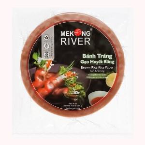 Bánh tráng 16cm gạo huyết rồng Mekong River gói 300g