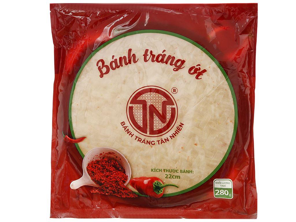 Bánh tráng ớt Tân Nhiên gói 280g 1
