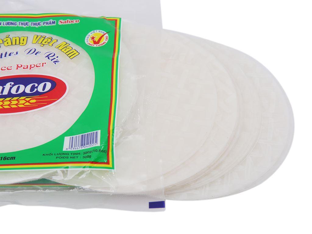 Bánh tráng 16cm Safoco gói 300g 3