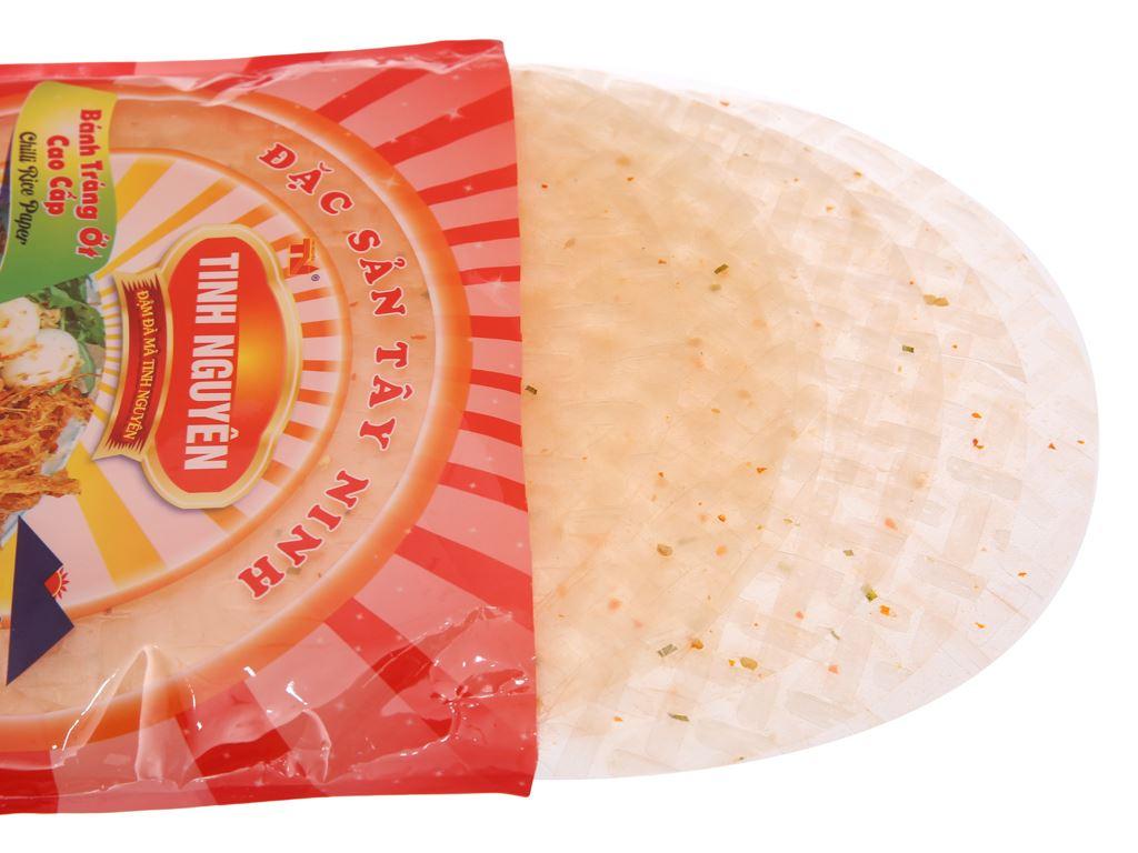 Bánh tráng ớt 22cm Tinh Nguyên gói 200g 4