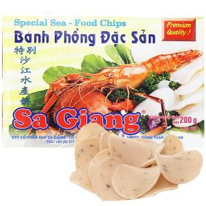 Bánh phồng đặc sản Sa Giang hộp 200g