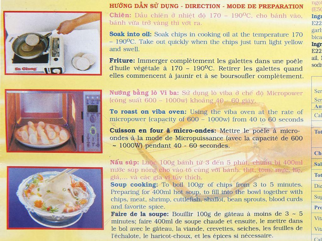Bánh phồng đặc sản Sa Giang hộp 200g 10
