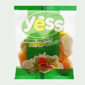 Bánh phồng rau củ Yess gói 100g