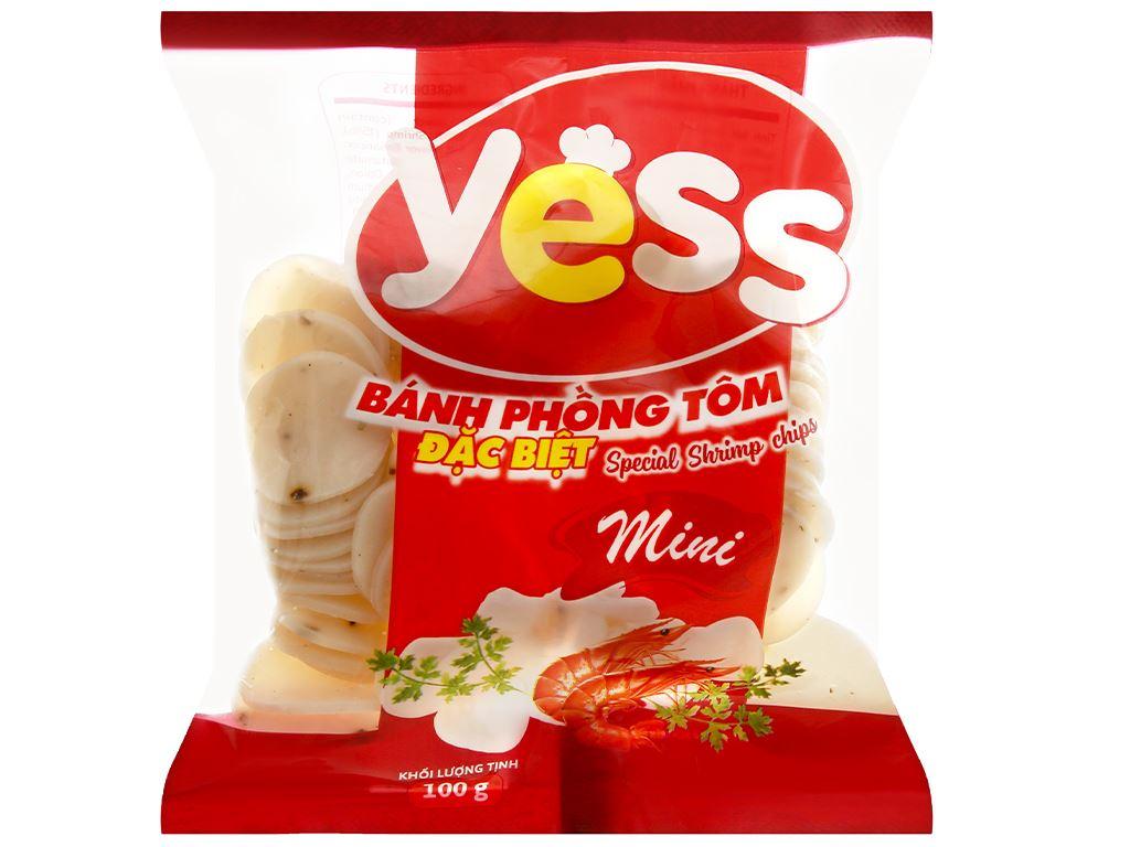 Bánh phồng tôm mini đặc biệt Yess gói 100g 1