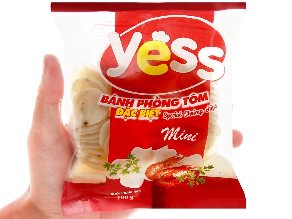 Bánh phồng tôm mini đặc biệt Yess gói 100g 4