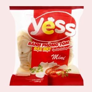 Bánh phồng tôm mini đặc biệt Yess gói 100g