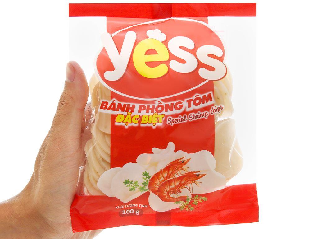 Bánh phồng tôm Yess gói 100g 4
