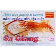 Bánh phồng tôm Sa Giang đặc biệt 200g