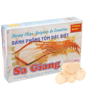 Bánh phồng tôm đặc biệt Sa Giang 200g