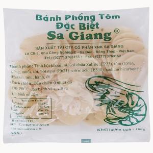 Bánh phồng tôm đặc biệt Sa Giang gói 100g
