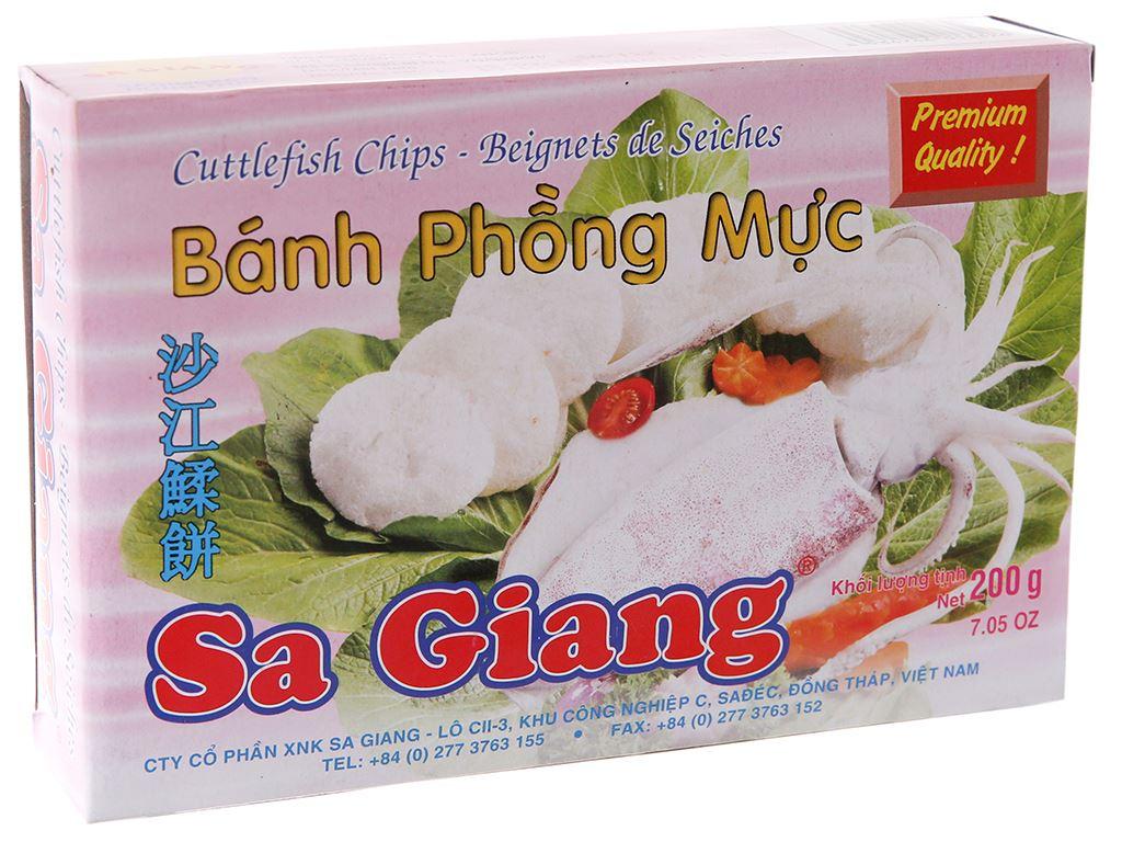 Bánh phồng mực Sa Giang hộp 200g 2