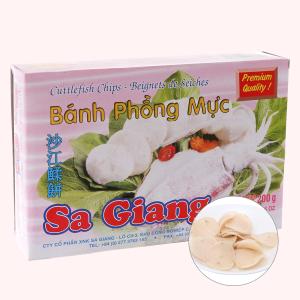 Bánh phồng mực Sa Giang hộp 200g