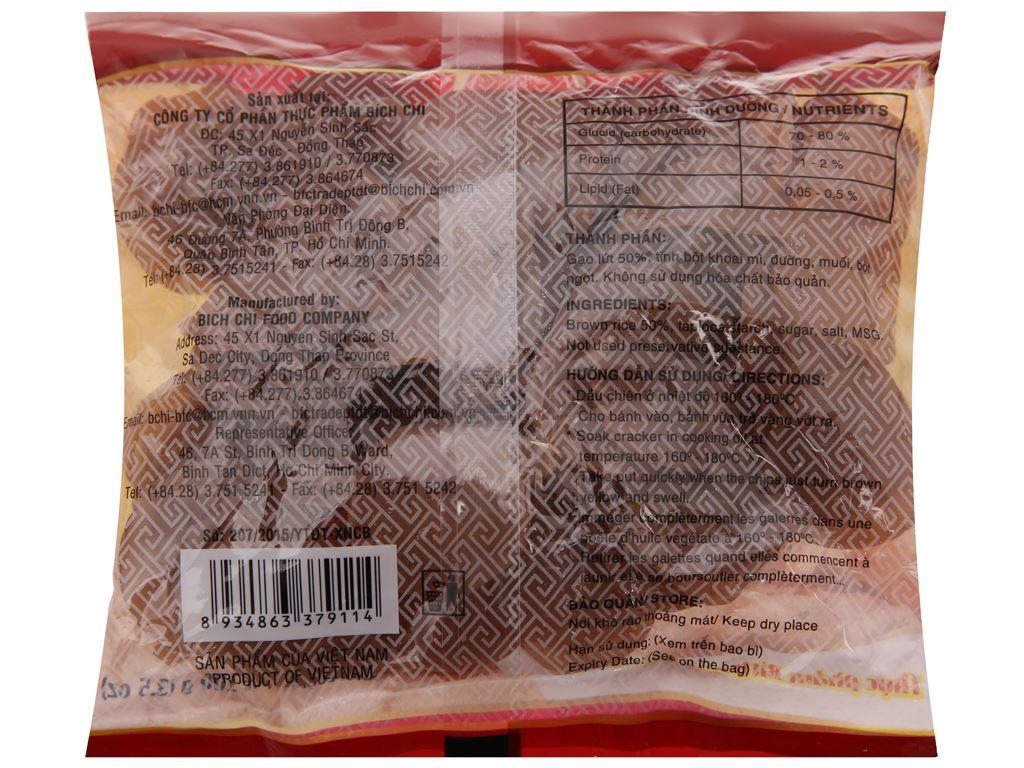 Bánh phồng gạo lứt Bích Chi gói 100g 3