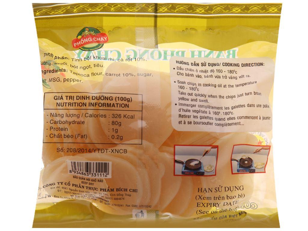 Bánh phồng chay Bích Chi gói 100g 4