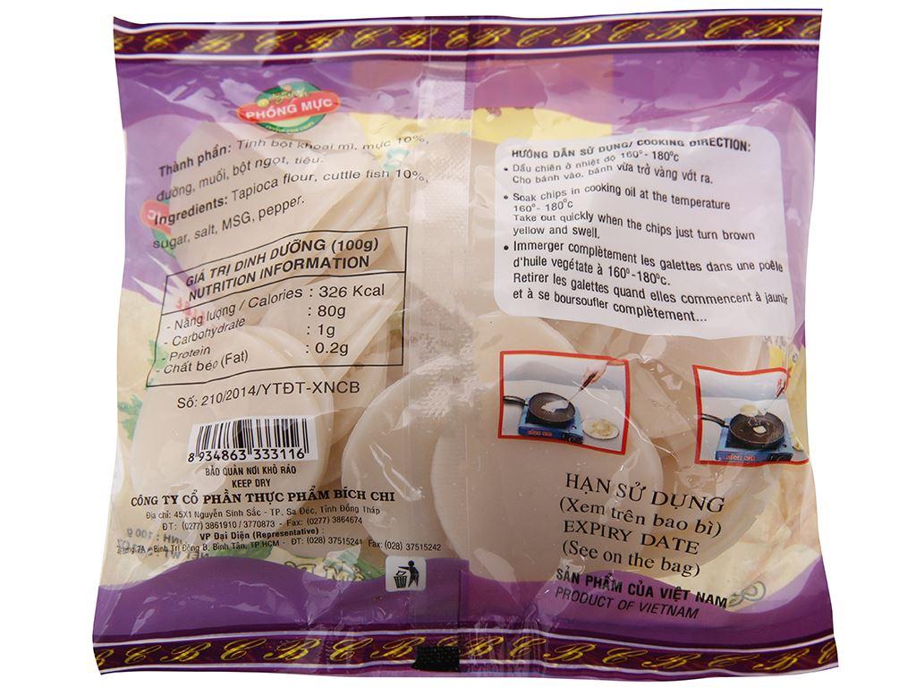 Bánh phồng mực Bích Chi gói 100g 3