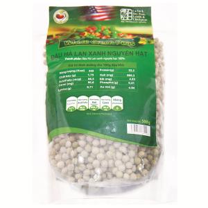 Đậu Hà Lan xanh nguyên hạt TMT Foods gói 500g