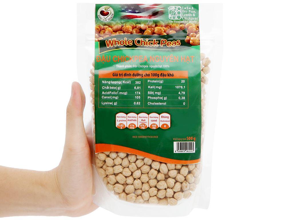 Đậu gà nguyên hạt TMT Foods 500g 8