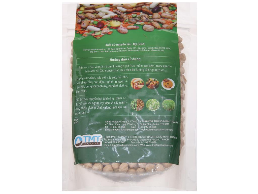 Đậu gà nguyên hạt TMT Foods gói 500g 2