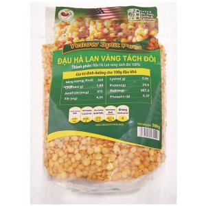 Đậu Hà Lan vàng tách đôi TMT Foods gói 500g