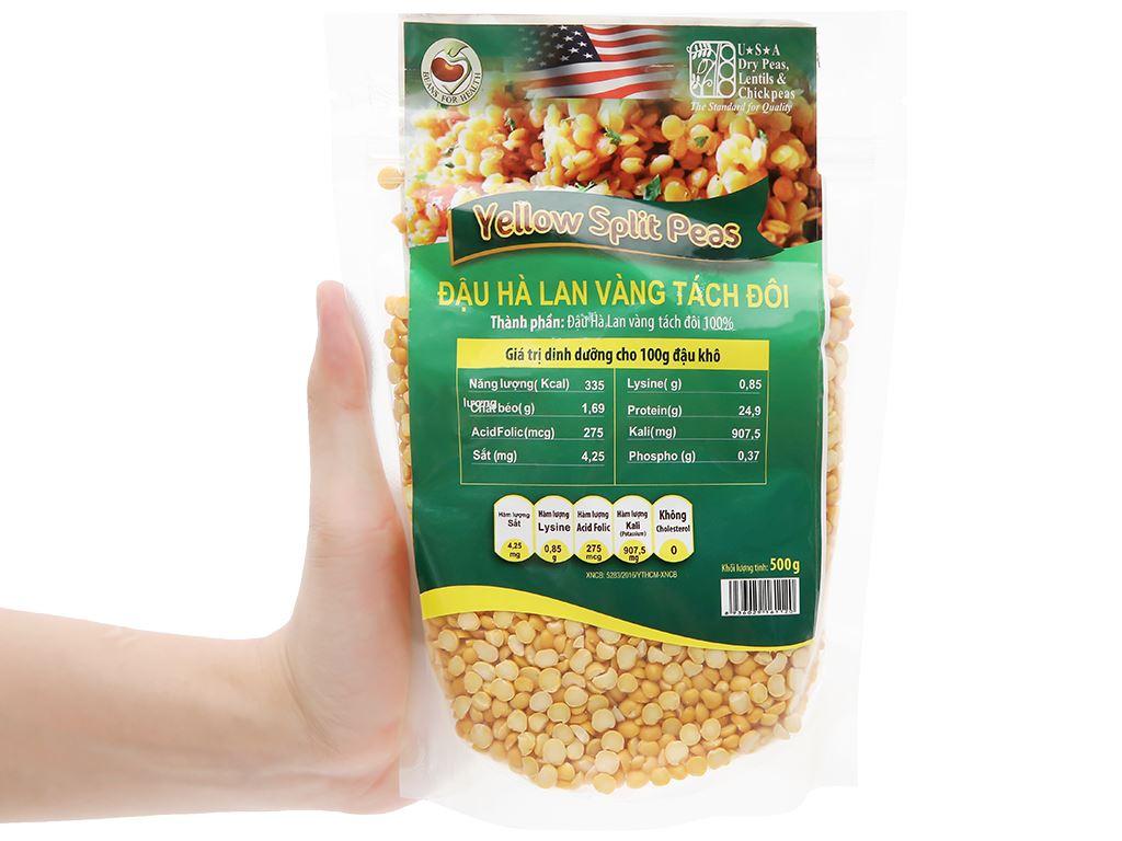 Đậu Hà Lan vàng tách đôi TMT Foods 500g 8