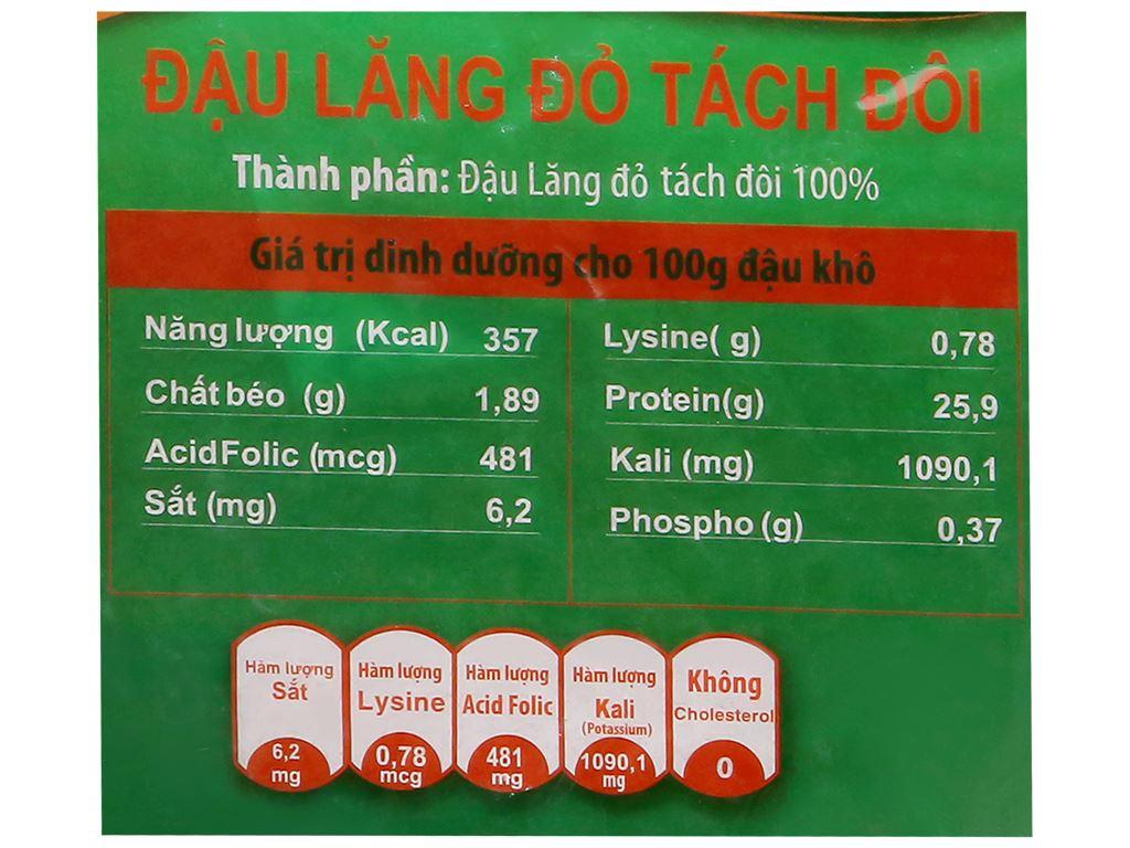 Đậu lăng đỏ tách đôi TMT Foods 500g 7
