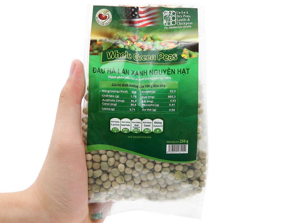 Đậu Hà Lan xanh nguyên hạt TMT Foods gói 250g 12