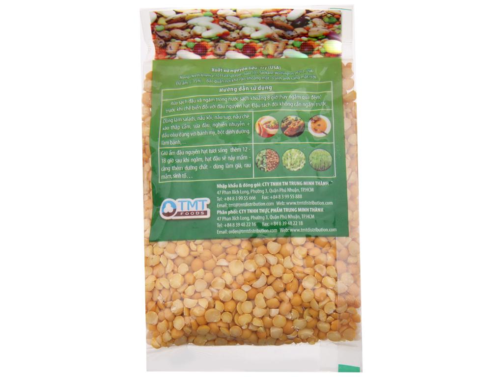 Đậu Hà Lan vàng tách đôi TMT Foods gói 250g 2