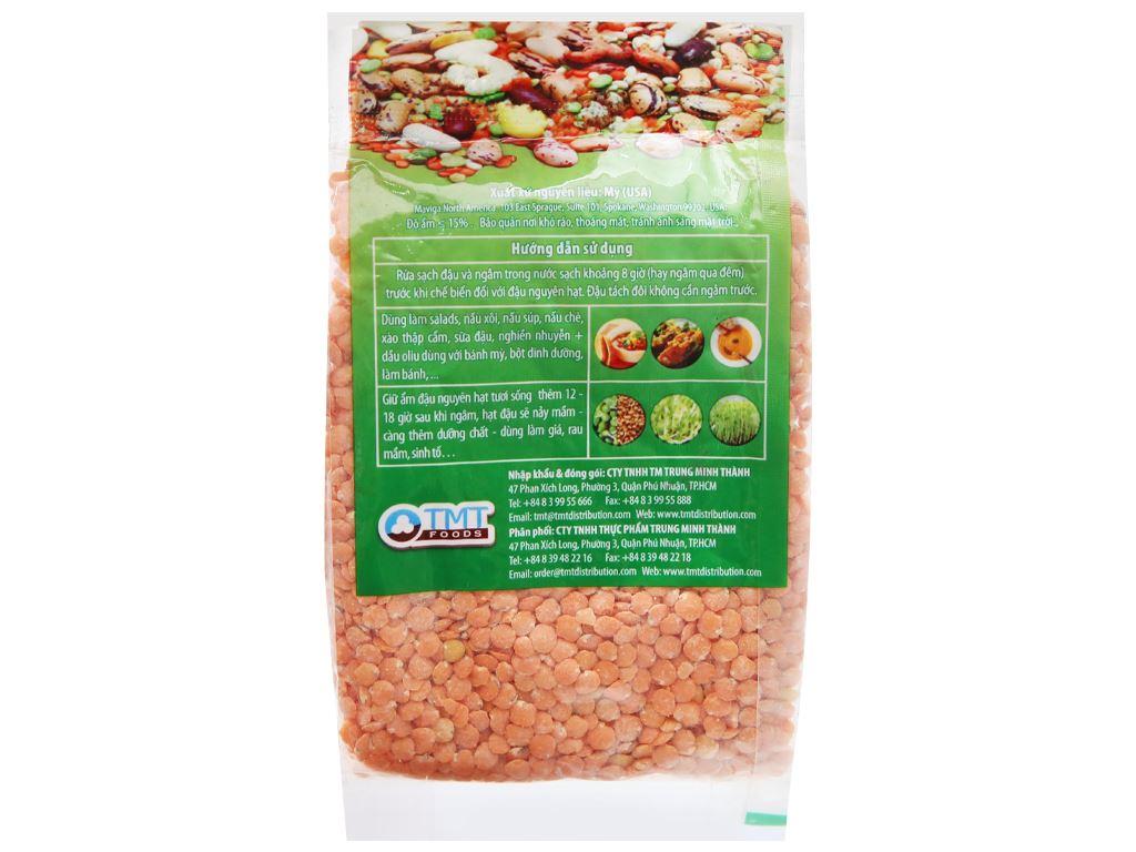 Đậu lăng đỏ tách đôi TMT Foods gói 250g 6