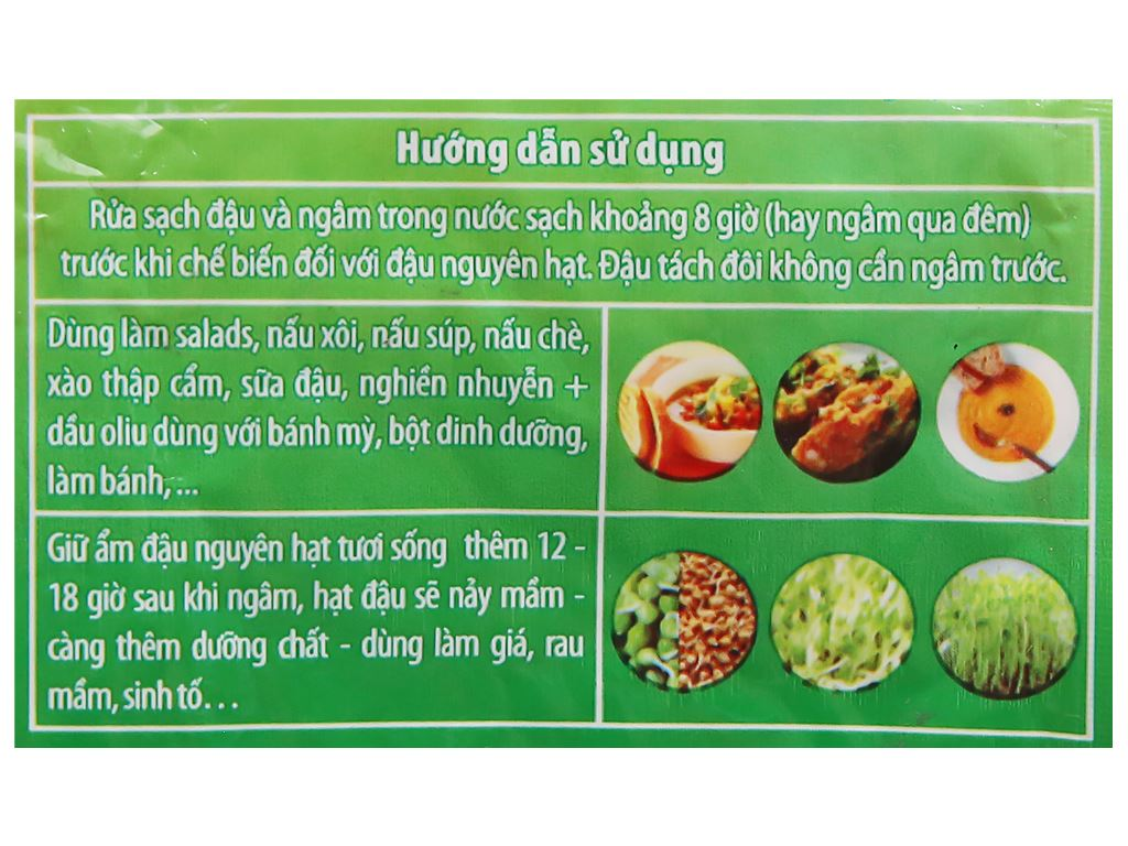 Đậu lăng đỏ tách đôi TMT Foods gói 250g 8