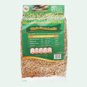 Đậu lăng xanh nguyên hạt TMT Foods 250g