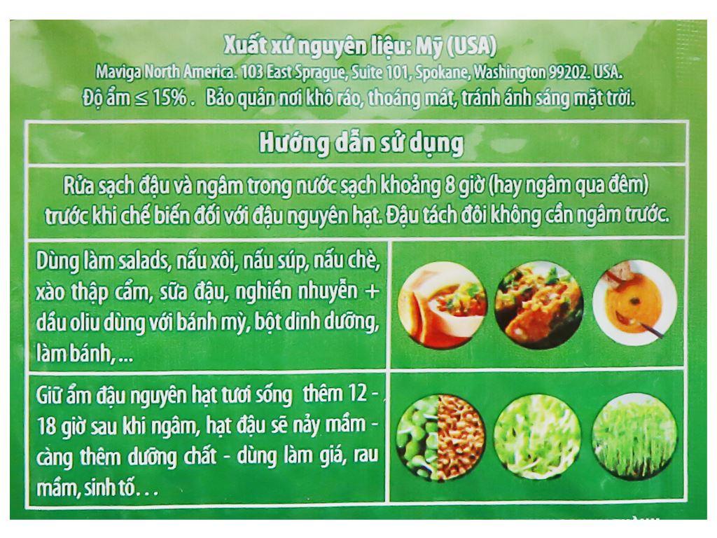 Đậu lăng xanh nguyên hạt TMT Foods gói 250g 7