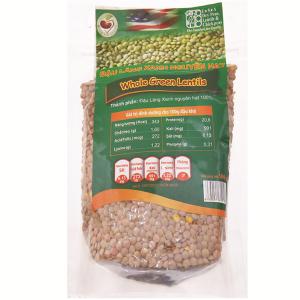 Đậu lăng xanh nguyên hạt TMT Foods gói 500g