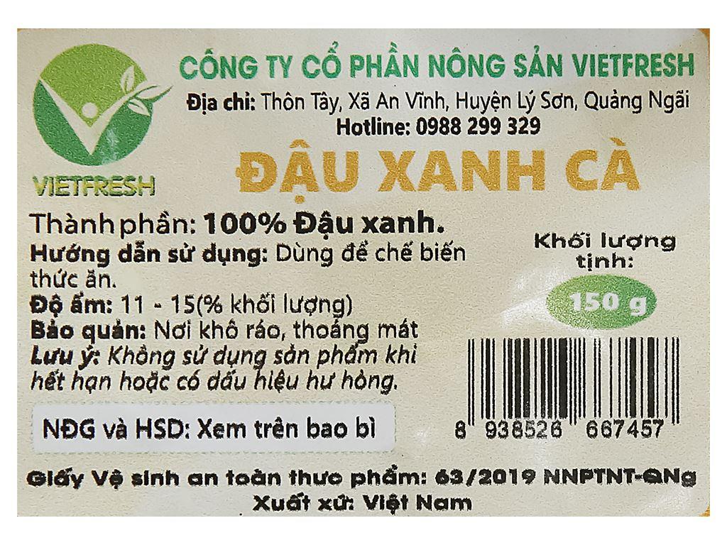 Đậu xanh cà cao cấp Vietfresh 150g 8
