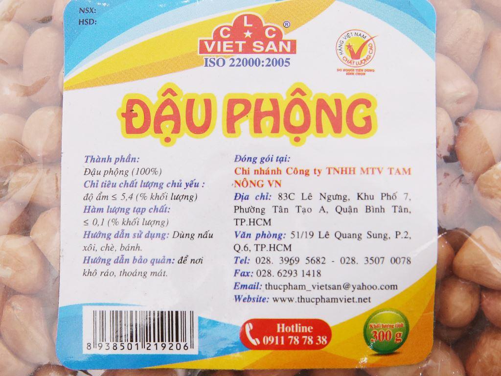 Đậu phộng Việt San gói 300g 4
