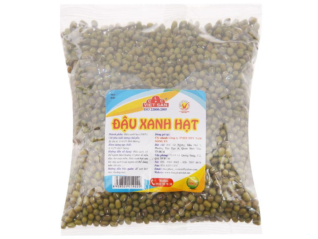 Đậu xanh hạt Việt San gói 300g 1