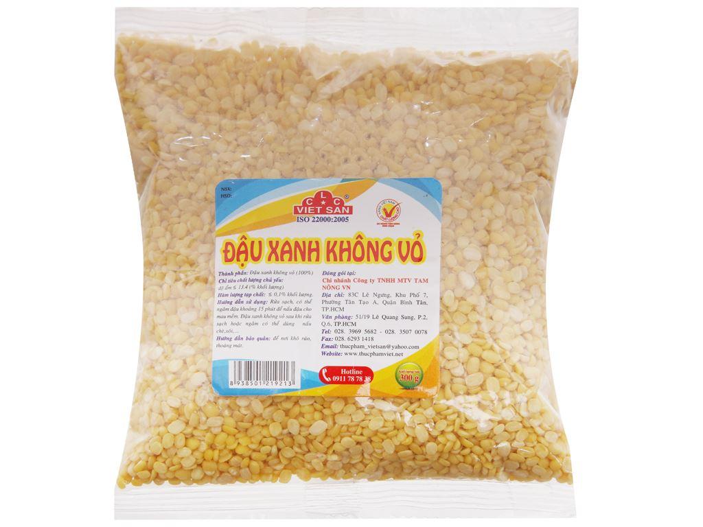 Đậu xanh không vỏ Việt San gói 300g 1