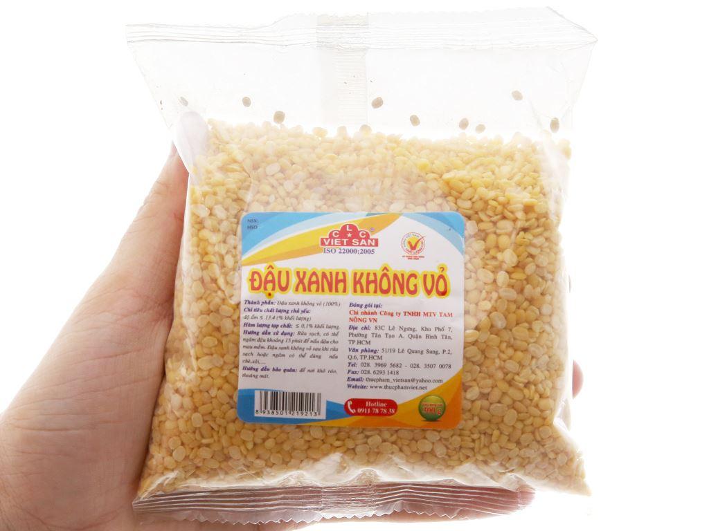 Đậu xanh không vỏ Việt San gói 300g 2