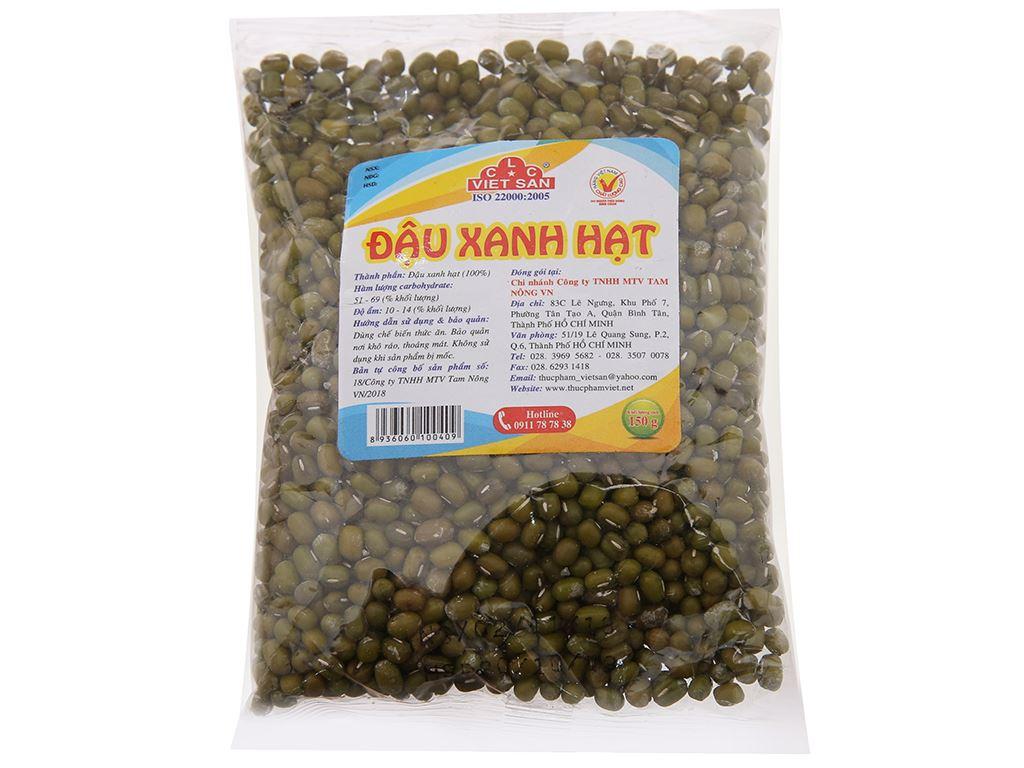 Đậu xanh hạt Việt San gói 150g 1