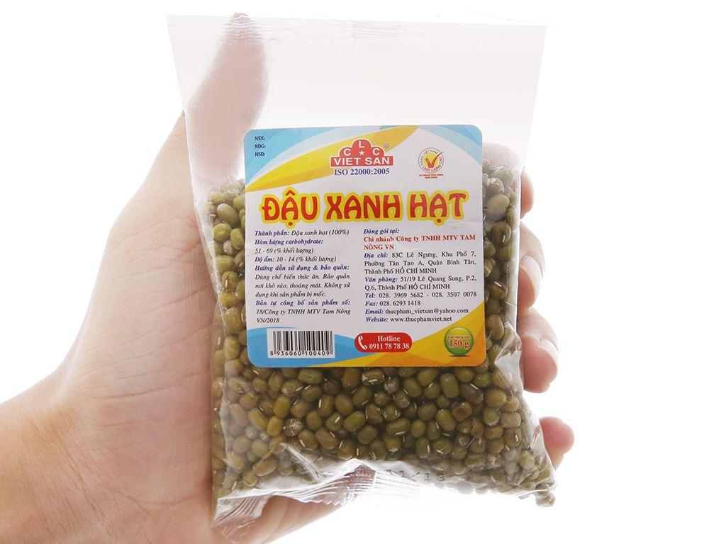 Đậu xanh hạt Việt San gói 150g 4