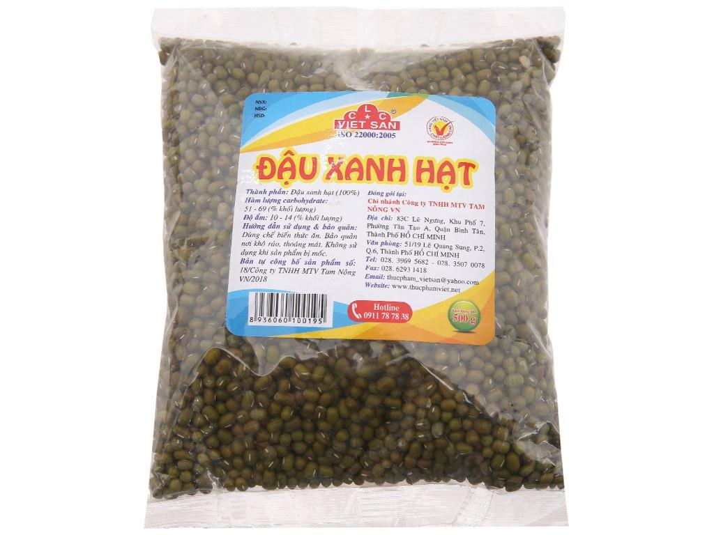 Đậu xanh hạt Việt San gói 500g 1