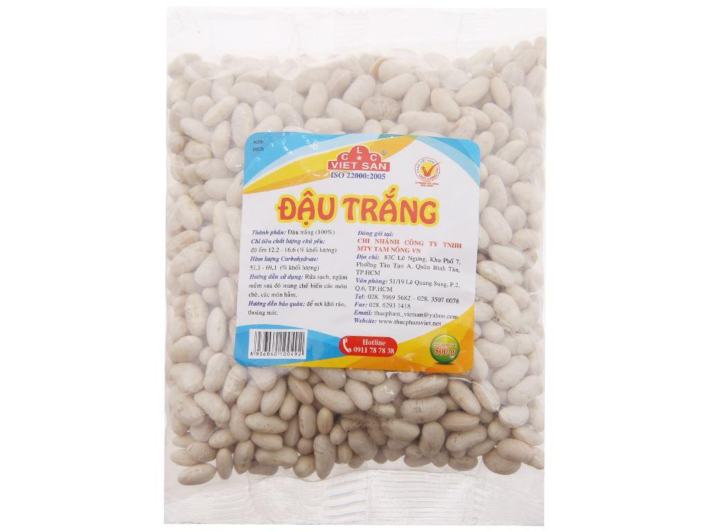 Đậu trắng Việt San gói 500g 1