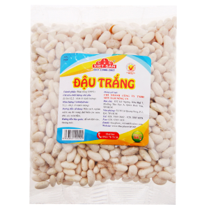 Đậu trắng Việt San gói 500g