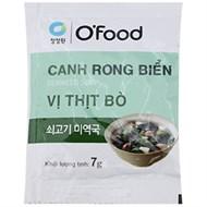 Canh rong biển Miwon vị Thịt bò 7g