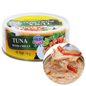 Cá ngừ sốt ớt Sea Crown hộp 140g
