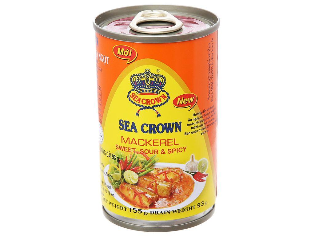Cá nục sốt ớt chua ngọt Sea Crown hộp 155g 1