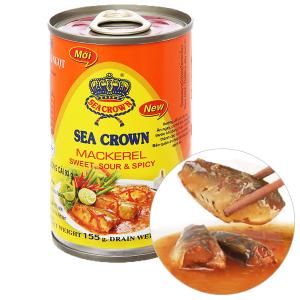 Cá nục sốt ớt chua ngọt Sea Crown hộp 155g